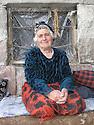 Armenia 2007 <br />  Ailason Giawaz, a Yezidi woman from Verin, district of Artashat<br /> Armenie 2007<br /> Aliason Giawaz, femme yezidi de virin , region de Artashat