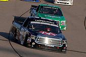 #51: Harrison Burton, Kyle Busch Motorsports, Toyota Tundra Morton Buildings and #41: Ben Rhodes, ThorSport Racing, Ford F-150