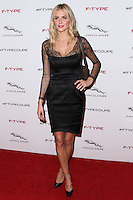 PLAYA VISTA, CA - NOVEMBER 19: Donna Air at the 2015 Jaguar F-TYPE Coupe Global Debut held at Raleigh Studios on November 19, 2013 in Playa Vista, California. (Photo by Xavier Collin/Celebrity Monitor)