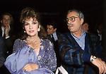 GINA LOLLOBRIGIDA E NINO MANFREDI<br /> PARIGI 1988