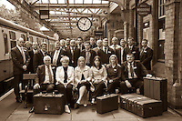 East Midlands Trains Staff on a visit to the delightful Grand Central Railway in Loughborough, Nottinghamshire