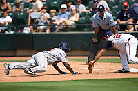 Golson, Greg 1060 (Andrew Woolley).jpg. Pacific Coast League Oklahoma City RedHawks against the Round Rock Express at Dell Diamond on May 10th 2009 in Round Rock, Texas. Photo by Andrew Woolley.