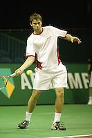18-2-06, Netherlands, tennis, Rotterdam, ABNAMROWTT, Qualifying round, Michael Lammer