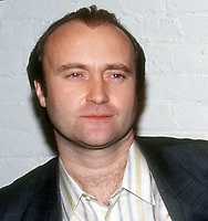 Phil Collins 1991, Photo By John Barrett/PHOTOlink