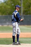 Dan Merklinger - Milwaukee Brewers - 2009 spring training.Photo by:  Bill Mitchell/Four Seam Images