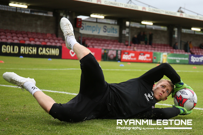 Shane Supple during the warm up ahead of the SSE Airtricity League Premier Division game between Cork City and Bohemians on Friday 15th June 2018 at Turners Cross, Cork. Photo By Michael P Ryan