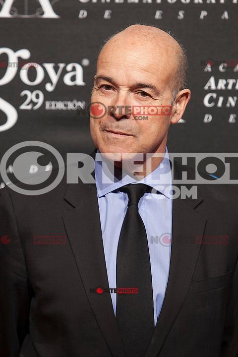 Antonio Resines poses before the 2015 Goya Awards nominee ceremony in Madrid, Spain. January 19, 2015. (ALTERPHOTOS/Victor Blanco)