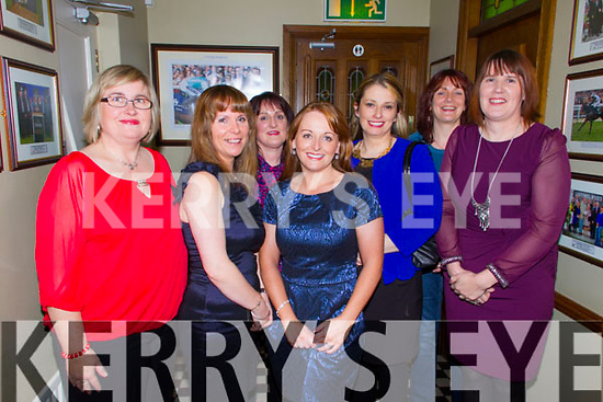 ***Reproduction Free***<br /> JDM Photography.ie<br /> Photographer: Michael Collins<br /> <br /> Christmas Gathering: Pictured in Leen's Hotel, Abbeyfeale  on Saturday night was a Christmas friends reunion, Pictured L-R: Marie O'Connor and Maria Doody, Listowel, Martina McElligot, Duagh, Breda Collins, Meelin,  Annmarie Dalton, Templeglantine,  Bridget Sheehy, Abbeyfeale, and Olive Relihan, Listowel.