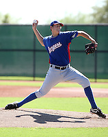 Shawn Blackwell - Texas Rangers - 2010 Instructional League.Photo by:  Bill Mitchell/Four Seam Images..