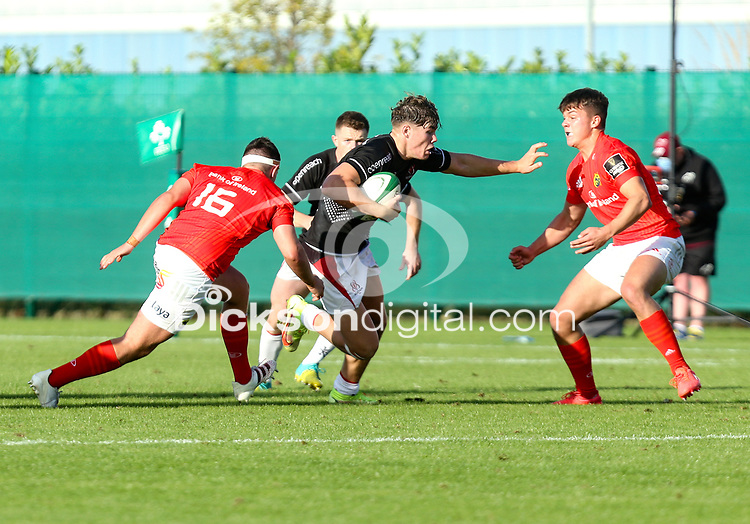 Saturday 18th September 2021<br /> <br /> Jude Postlethwaite during the Development A Interprovincial game Ulster A and Munster A at the IRFU High Performance Centre, Dublin, Ireland. Photo by John Dickson/Dicksondigital