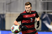 Chester, PA - Friday December 08, 2017: Tanner Beason The Stanford Cardinal defeated the Akron Zips 2-0 during an NCAA Men's College Cup semifinal match at Talen Energy Stadium.