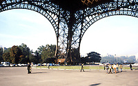 Paris: Eiffel Tower--base.