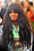 M.I.A. at the 'Schiaparelli And Prada: Impossible Conversations' Costume Institute Gala at the Metropolitan Museum of Art on May 7, 2012 in New York City. ©mpi03/MediaPunch Inc.