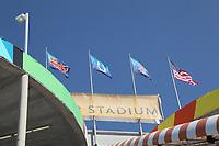 Super Bowl XLIV im Sun Life Stadion in Miami<br /> Super Bowl XLIV: Indianapolis Colts vs. New Orleans Saints *** Local Caption *** Foto ist honorarpflichtig! zzgl. gesetzl. MwSt. Auf Anfrage in hoeherer Qualitaet/Aufloesung. Belegexemplar an: Marc Schueler, Alte Weinstrasse 1, 61352 Bad Homburg, Tel. +49 (0) 151 11 65 49 88, www.gameday-mediaservices.de. Email: marc.schueler@gameday-mediaservices.de, Bankverbindung: Volksbank Bergstrasse, Kto.: 52137306, BLZ: 50890000