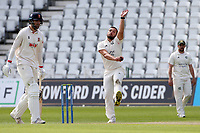 Dane Paterson in bowling action for Nottinghamshire during Nottinghamshire CCC vs Essex CCC, LV Insurance County Championship Group 1 Cricket at Trent Bridge on 9th May 2021