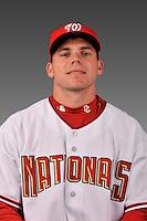 14 March 2008: ..Portrait of Mark Gildea, Washington Nationals Minor League player at Spring Training Camp 2008..Mandatory Photo Credit: Ed Wolfstein Photo