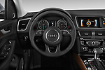 Car pictures of steering wheel view of a 2013-2014 Audi Q5 Base 5 Door SUV