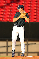 September 14, 2009:  Jesse Biddle, one of many top prospects in action, taking part in the 18U National Team Trials at NC State's Doak Field in Raleigh, NC.  Photo By David Stoner / Four Seam Images