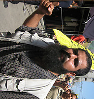 Palestinian in  the funeral of Islamic Jihad militant Hosam Harb, who was killed in an Israeli air strike, in Gaza June 25, 2007. Israel carried out an air strike on Sunday, targeting a car used by Islamic Jihad in the Gaza Strip, killing at least one militant, local residents said