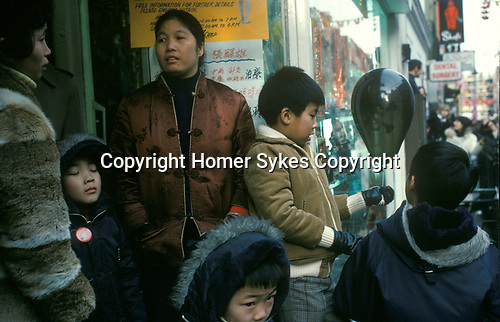 Chinese immigrant community London 1970s parents and children 70s UK
