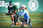 Highlights from Tulane Fall Football camp held on August 3, 2018.