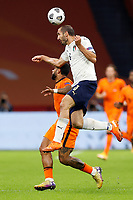 AMSTERDAM, 07-09-2020, JohanCruyff Stadium, season 2020 / 2021 . Nations Leaque game between Netherlands and Italy. Netherlands player Memphis Depay and Italian player Giorgio Chiellini<br /> Amsterdam 07-09-2020 <br /> Football Calcio Uefa Nations League <br /> Olanda - Italia / Netherlands - Italy <br /> Photo Stanley Gontha / Pro Shots / Insidefoto <br /> ITALY ONLY