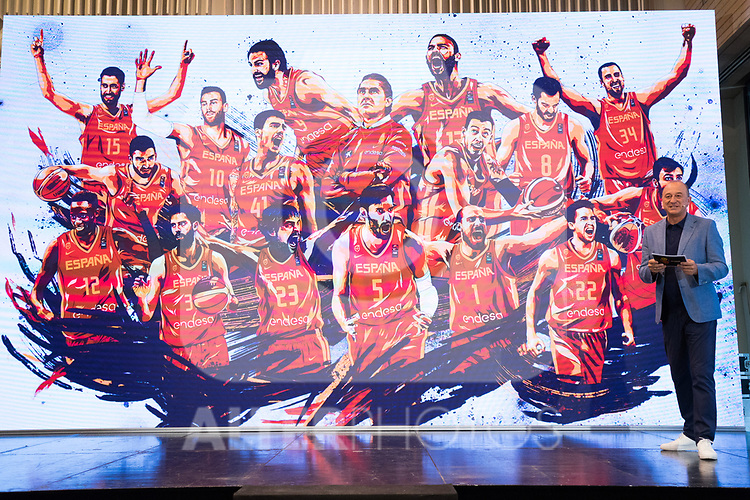 Draw of Spanish National Team of Basketball.  July 24, 2019. (ALTERPHOTOS/Francis Gonzalez)