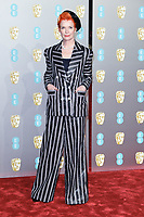 Sandy Powell<br /> arriving for the BAFTA Film Awards 2019 at the Royal Albert Hall, London<br /> <br /> ©Ash Knotek  D3478  10/02/2019