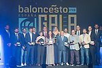 All the awarded during the first edition of Spanish Basketball Awards. July 25, 2019. (ALTERPHOTOS/Francis Gonzalez)