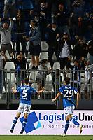 Mg Brescia 27/08/2021 - campionato di calcio serie B / Brescia-Cosenza / photo Image Sport/Insidefoto<br /> nella foto: esultanza gol Tom Van de Looi