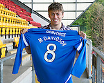 St Johnstone Players Sponsors Night, McDiarmid Park...09.05.12.Murray Davidson.Picture by Graeme Hart..Copyright Perthshire Picture Agency.Tel: 01738 623350  Mobile: 07990 594431