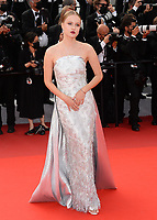 CANNES, FRANCE. July 15, 2021: Polina Pushkareva at the France premiere at the 74th Festival de Cannes.<br /> Picture: Paul Smith / Featureflash