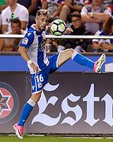 Deportivo de la Coruna's Luisinho Correia during La Liga match. August 20,2017.  *** Local Caption *** © pixathlon +++ tel. +49 - (040) - 22 63 02 60 - mail: info@pixathlon.de