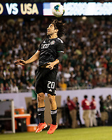 CHICAGO, IL - JULY 7: Rodolfo Pizarro #20 during a game between Mexico and USMNT at Soldier Field on July 7, 2019 in Chicago, Illinois.