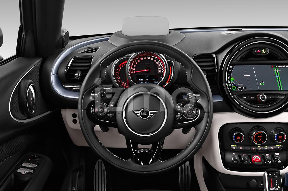 Car pictures of steering wheel view of a 2020 MINI Clubman 5 Door Wagon Steering Wheel
