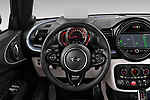 Car pictures of steering wheel view of a 2020 MINI Clubman 5 Door Wagon Steering Wheel
