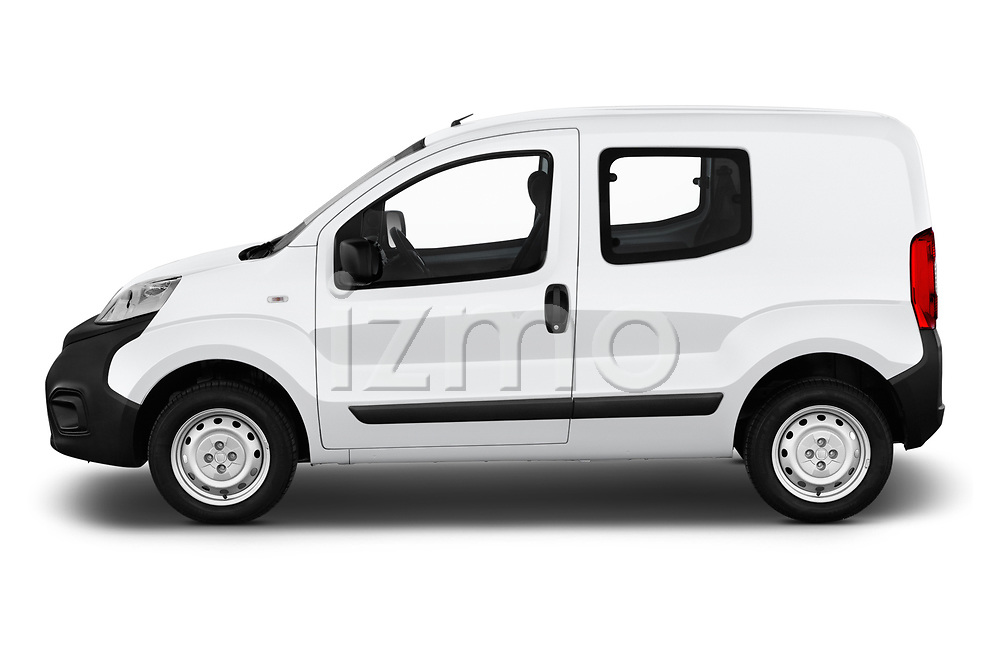 Car driver side profile view of a 2018 Fiat Fiorino Base 5 Door MPV
