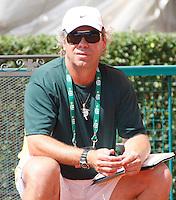 Tenis, World Championship U-14.Czezh Republic Vs. Australia.David Poljak Vs. Blake Mott.Broderick Dyke, team captain.Prostejov, 02.08.2010..foto: Srdjan Stevanovic/Starsportphoto ©