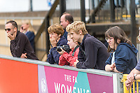 Supporters during the Wycombe Wanderers 2016/17 Team & Individual Squad Photos at Adams Park, High Wycombe, England on 1 August 2016. Photo by Jeremy Nako.
