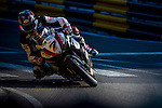 Gary Johnson races the Macau Motorcycle Grand Prix during the 61st Macau Grand Prix on November 15, 2014 at Macau street circuit in Macau, China. Photo by Aitor Alcalde / Power Sport Images