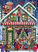 Randy, CHRISTMAS SANTA, SNOWMAN, WEIHNACHTSMÄNNER, SCHNEEMÄNNER, PAPÁ NOEL, MUÑECOS DE NIEVE, paintings+++++,USRW369,#x#