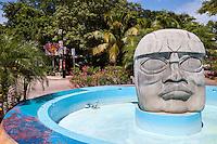 Fountain at Downtown Intersection, Playa del Carmen, Riviera Maya, Yucatan, Mexico