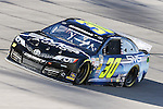 Sprint Cup Series driver Parker Kligerman (30) in action during the Nascar Sprint Cup Series Duck Commander 500 practice at Texas Motor Speedway in Fort Worth,Texas.