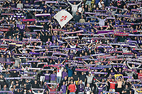 21nd September 2021; Artemio Franchi Stadium, Florence, Italy; Serie A championship football, AC Fiorentina versus FC Inter Milan; Fiorentina's supporters make noise