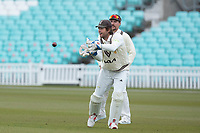 Ben Foakes of Surrey CCC takes during Surrey CCC vs Hampshire CCC, LV Insurance County Championship Group 2 Cricket at the Kia Oval on 1st May 2021