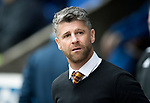 St Johnstone v Motherwell…07.04.18…  McDiarmid Park    SPFL<br />Motherwell manager Stephen Robinson<br />Picture by Graeme Hart. <br />Copyright Perthshire Picture Agency<br />Tel: 01738 623350  Mobile: 07990 594431
