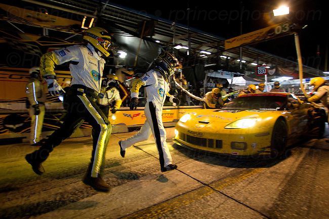 Racing cars from Acura, Alfa Romeo, Audi, Aston Martin, Bentley, BMW, Cadillac, Chevrolet Corvette, Camaro, Dodge Viper, Ford, Honda, Jaguar, Lexus, Maserati, Mazda, Mustang, Peugeot, Pontiac, Porsche, Saleen, from ALMS, Grand-Am, IRL, CART, Formula One, NASCAR and other motorsports events at Le Mans, Sebring, Daytona, Lime Rock, Mid-Ohio, Road America, Road Atlanta, Laguna Seca, Watkins Glen, Indy, Bonneville, and other race tracks