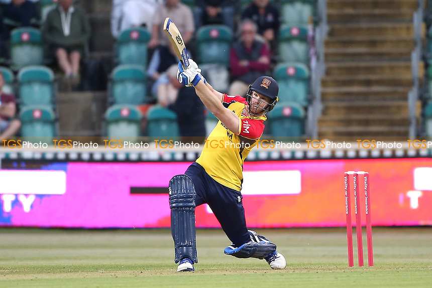 Jimmy Neesham hits 6 runs for Essex during Somerset vs Essex Eagles, Vitality Blast T20 Cricket at The Cooper Associates County Ground on 9th June 2021