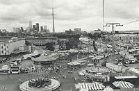 Canada - Ontario - Toronto - Exhibitions - CNE - Aerial Views <br /> <br /> Photo : Boris Spremo - Toronto Star archives - AQP