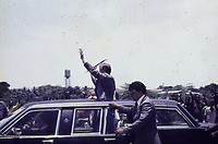 State visit of US President Jimmy Carter and wife<br />  Monrovia, Liberia, 1978